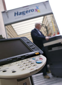 Hagero copier printer
