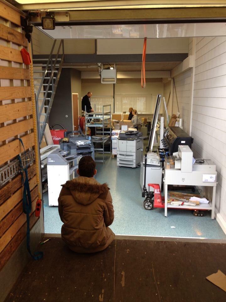 Printshop Rotterdam - Hagero Repro Barendrecht verhuist