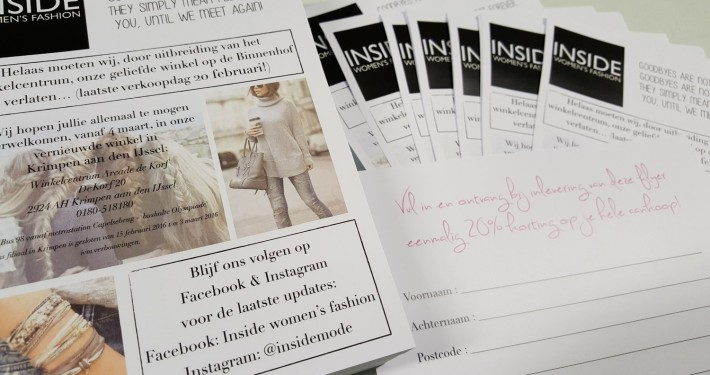 Folders, flyers en leaflets A5 - visuele communicatie, print, drukwerk, reproductie - Hagero Repro Rotterdam